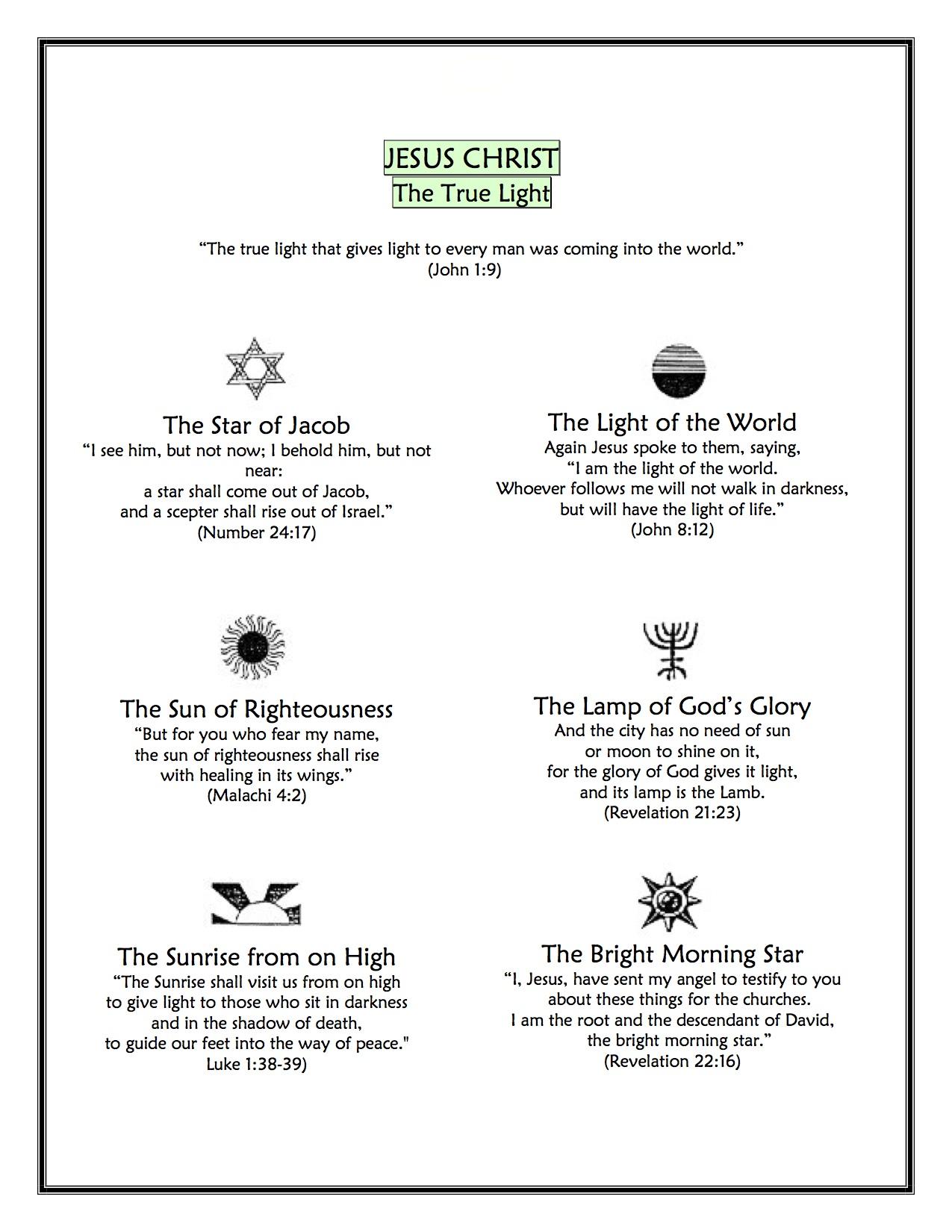 LIGHT OF THE WORLD: A Christmas Worship Meditation | Worship Notes
